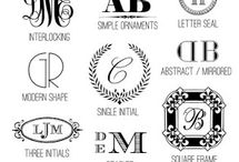 monogram / by Jessica Sherrill