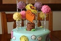 Lorax cake / by Kim Allen