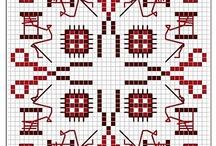 Cross Stitch: Biscornus / by Christel Krampitz