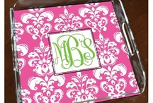 Reluctantly...A Monogram Board / by Sarah Matthews