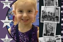 gymnastics scrapbook pages / by Jordan Rishel