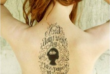 Tattoos and Piercings / by Kristina Pleasants
