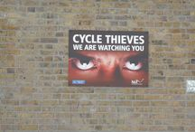 just to aware you cycle thieves / ... / by BIKE WITH WERONIKA