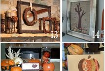 FALL DECORATIONS / by Felicia Scurlock