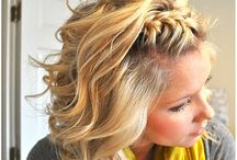 hairstyles  / by Kristi Raines