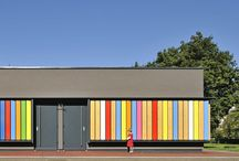 Edificis escoles / by Assumpta Baldrich Danés