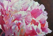 Watercolor flowers / by Heather Gaume