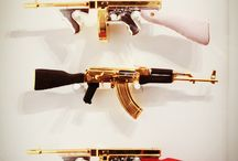 Guns & Knives / by Christopher Carabajal