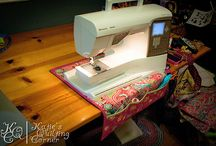 quilting / by Candace Harvatin