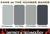 Colors For Hunger Games Fans / Panem's 74th Annual Hunger Games is ready to begin! Follow our CertaPro Painters® journey through the colors of the Districts on the way to the Capitol. / by CertaPro Painters®