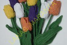 Flores de crochet / by Alfalfa Accesorios
