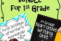 1st Grade: Writing / by April Heilbrun