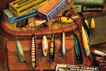 Vintage Fishing &Tackle / Antique Fishing and Tackle / by Fred Taylor