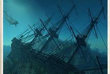 Sunken Ships & Others / by Arielle Alstatt