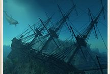 Sunken Treasure & Shipwrecks / by Susan Abraham