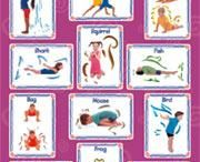yoga for kids / by Melissa at Early Childhood Solutions