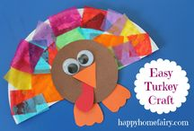 Thanksgiving crafts / by Niki Royston
