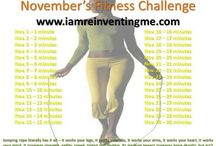 Monthly Fitness Challenges  / by IamReinventingME