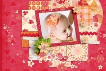 My Scrapbook Layouts / My kits are at