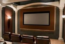 AIH- Our Entertainment Centers / Our Home Theatre and Media Center projects / by America In-Home