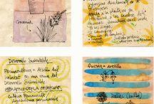 Journalling/ATC's / by Emma Tyrrell