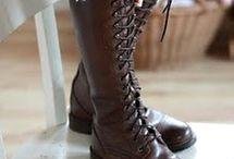 Shoes - Boots for Women and Men / by Ana de la Rosa