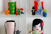 Paper roll crafts / by Katerina Legaki