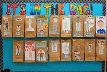 Teaching- Bulletin Boards/decorating  / by Brianne Daigle