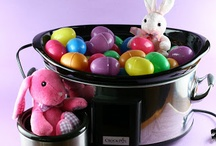 Hoppy Easter! / Make the most of this holiday with great food, festive decorations, and fun crafts that the whole family can enjoy! Hoppy Easter! / by Crock-Pot® Slow-Cooker