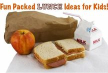 CHILDREN: Lunch/Snack Ideas / This board is full of nutritious and fun meal and snack ideas for the kids. I hope you are always inspired to make the kiddos meals interesting. / by Missy Shaffer