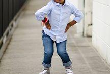Pequenos fashionistas / by Tanara Brasil