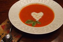 A+ Soups, Salads, Dressings & Sandwiches / My Favorite Soup is Chicken Noodle; my Husband's is Pea Soup or my homemade Veg.Beef Stew.  What's your 'Comfort Food' Soup Favorite? / by Betty Ann Bartanen Cody