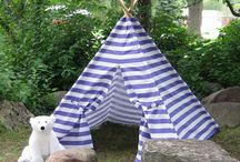 card table playhouses and teepees / by WOWMOM
