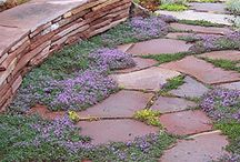 Flagstone Patio Ideas / by Sandy Freedman