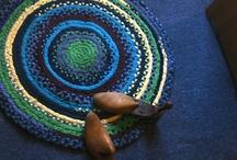 My handmade Rag Rugs / by Cari Rakai