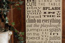 ~*signs*~ / by Danielle Breland