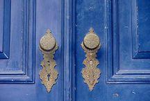 Blue's & Black / by Karen Michaels