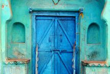 I Adore Doors... / Doors are so evocative. What lies on the other side? How many people have crossed this threshold and what are their stories? I could write an entire novel based on some of these doors... / by Maitri Libellule