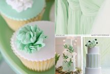 Weddings, Winter Wonderland, Evergreen/Pinecones, Green Color Scheme for Jennie Nov Wedding / Jennie is getting married!  Here is where the ideas go... :) / by Jen Antoniou Weddings and Events
