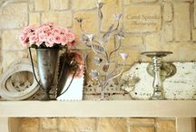 Fireplace and Mantle Decor / by Petal Pushers Inc. and Magnolia - Exquisite Florals & Event Decor