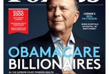 Special Issue: May 7, 2012 / Featuring the Obamacare Billionaire: Neal Patterson / by Forbes