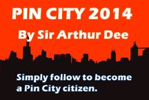 Pin City 2014 / In this city, everybody can become a citizen. Everybody can pin. Simply follow this board and you'll be followed and added so you can start pinning whatever you want to pin.  / by Sir Arthur Dee (Mr.Stanford 10)