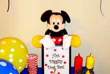 Mickey Mouse Birthday / by Amanda Case