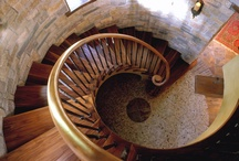 Standout Staircases / A collection of stunning stairwells elegantly designed by Talla Skogmo Interior Design.  / by Talla Skogmo Interior Design
