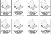 fun fold cards / by Tonda