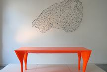 orange dining / by Heather Peterson