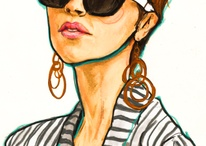 Fashion Art  / by Simone Hawks