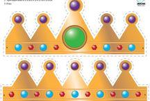 Free - Templates to make crowns / by Jana Coelho