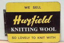 Vintage Knitting Yarns / by Vintage Knitting