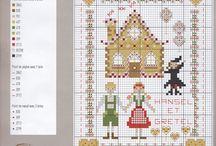 Xstitch-2 / Crossstitch patterns / by Charlotte